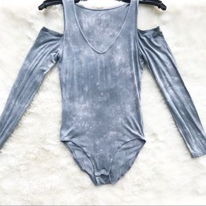American Eagle Cold Shoulder Body Suit